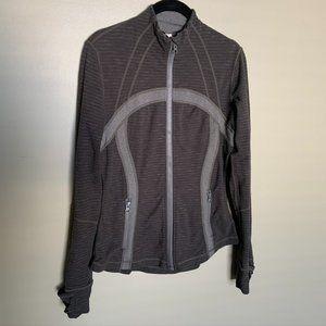 Lululemon Define jacket deep green full zip size 8